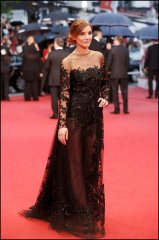 Clotilde Courau in ELIE SAAB Haute Couture