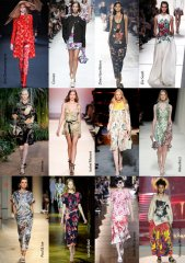 Spring-Summer 2014 Fashion Trends. Flower prints