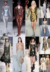 Spring-Summer 2014 Fashion Trends. Shine and sparkle