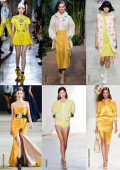 Spring-Summer 2014 Fashion Trends. Yellow