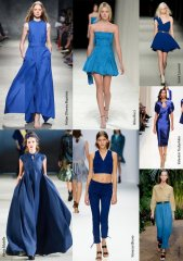Spring-Summer 2014 Fashion Trends. Blue