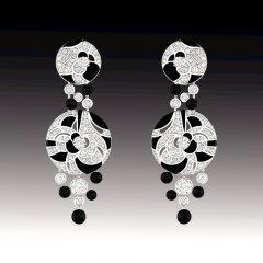 Earrings Midnight
