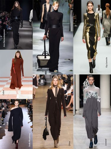 Paris Fall-Winter 2015/2016 Trends. Robe-pull