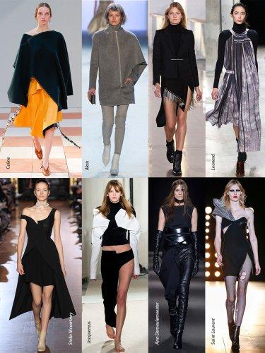 Paris Fall-Winter 2015/2016 Trends. Asymmetry