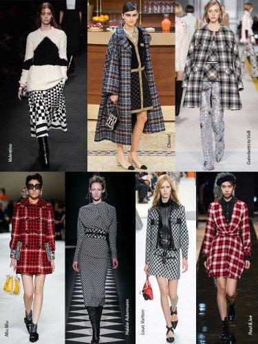Paris Fall-Winter 2015/2016 Trends. Plaid