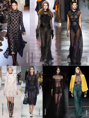 Paris Fall-Winter 2015/2016 Trends. Sheer