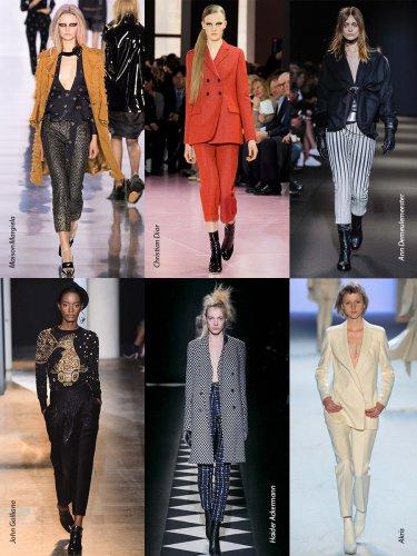 Paris Fall-Winter 2015/2016 Trends. Pants