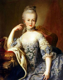 Young Marie-Antoinette (1767)