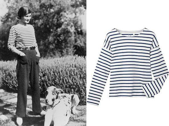 Chanel Breton Shirt