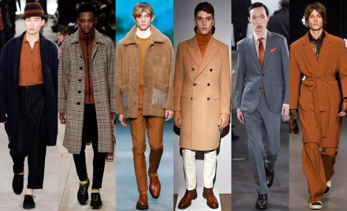 Copper trend. Oliver Spencer. Burberry. Tiger of Sweden. Gieves & Hawkes. Richard James. Topman Design