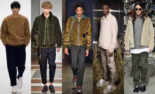 Fur and shearling trend. Lou dalton. 1205. Coach. Cottweiler. Tourne de Transmission