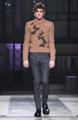 Knitting trend. Alexander McQueen