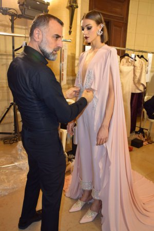 Georges Hobeika FW2017 Backstage