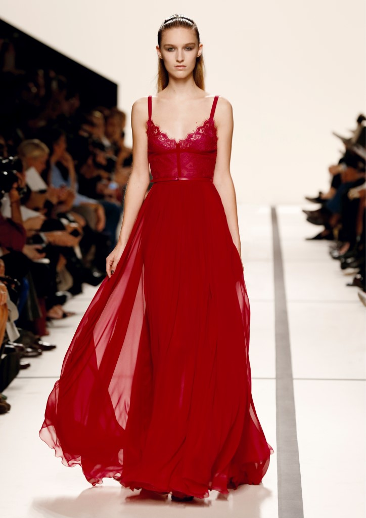 Elie saab pap ss2014 haute hot couture news for Haute couture red