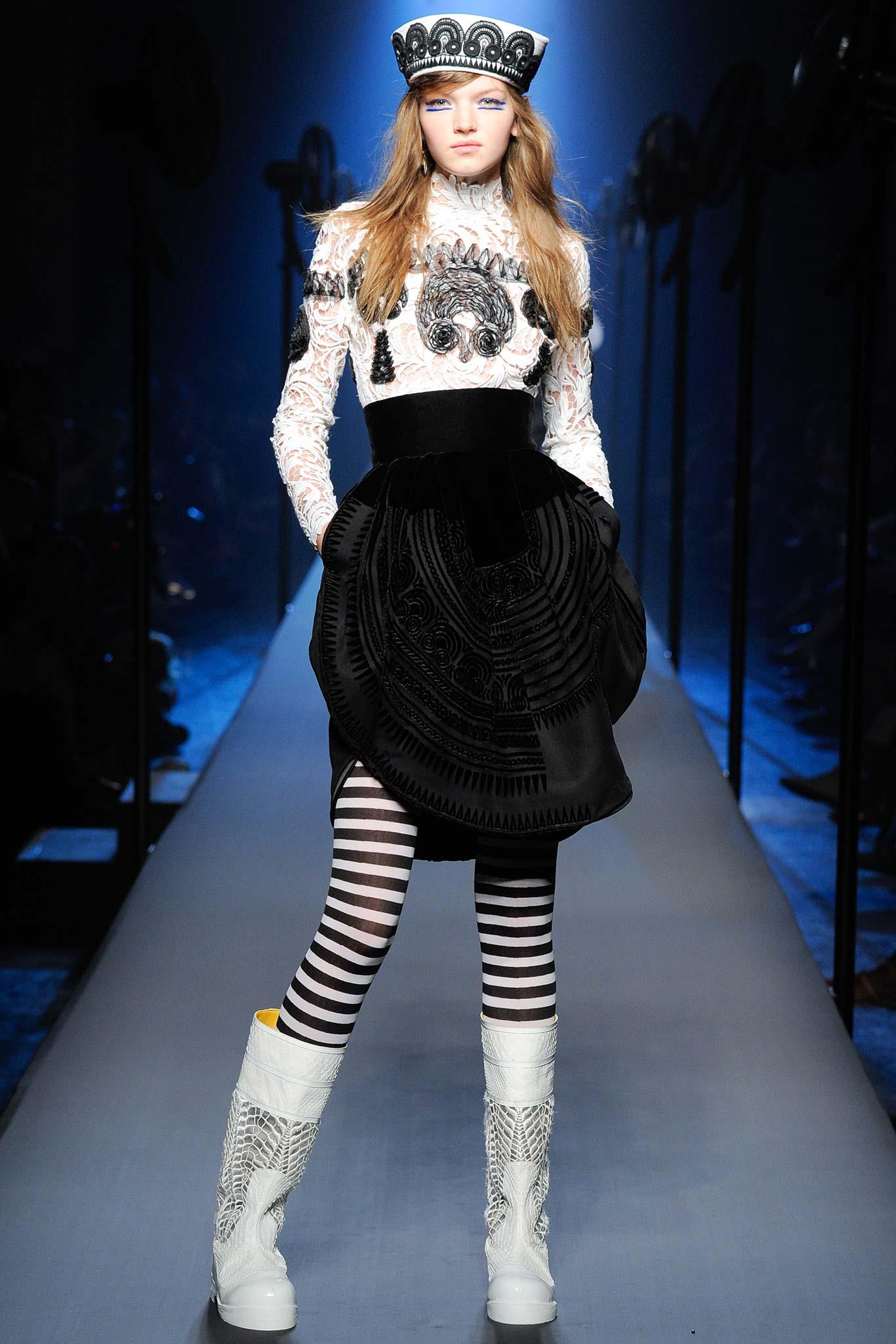 Jean paul gaultier fw2015 haute hot couture news - Acheter mariniere jean paul gaultier ...