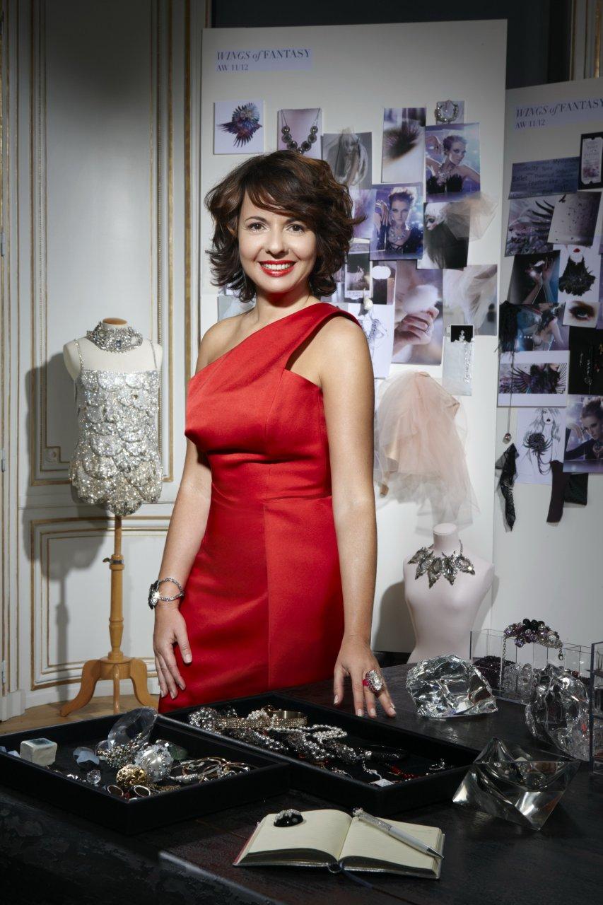 Interviewed By The Tarot: Nathalie Colin (Swarovski Elements) - Haute