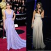 Couture dresses at Oscars Awards 2011